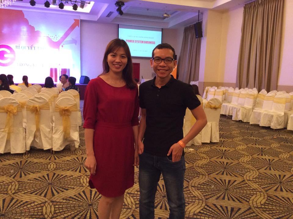 Nguyễn Kiên Cường cùng tôi tham dự khoá học về Kinh doanh